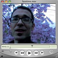 Videoblogging Week - Day 1: Face Time